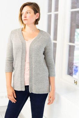 Worn-open Cardigan