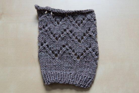 Lace Chevron Stripe fabric